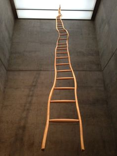 Martin Puryear. The only option is up.