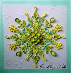 Quilling by Quilling Ada!