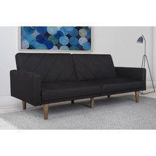Pryce Linen Convertible Sofa