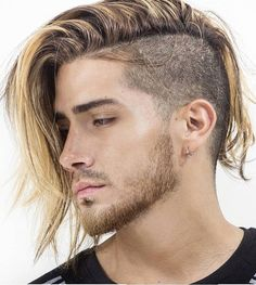 11 Beards That Create Magic With The Long Top Short Sides Hairstyle!