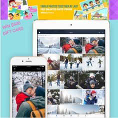 Excited to be working with the blogger program for Amazon and Amazon Prime for the new release of their photos app AND offering YOU the chance to win $500 - please enter and share! Thank you! Happy holidays! #AD #Primephotos #FamilyVault USA & Canada, no age limit, Ends 12/31/16