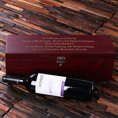 Personalized Engraved 5 pc Wine Case and Toolkit