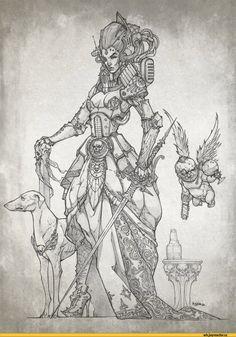 warhammer 40000,фэндомы,art,арт, арты,красивые картинки,artbook