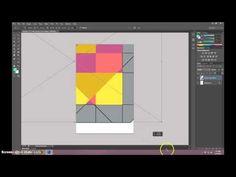 ▶ Geometric Poster Illustrator and Photoshop Tutorial - YouTube