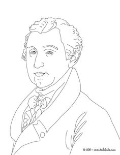 president james monroe coloring page