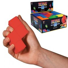 Blocs anti-stress Tetris cadeau geek Tetris ! Rapid-cadeau.com
