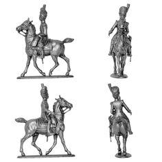 Oficial de artillería a pie de la Guardia Imperial a caballo - 1805 (MHSP) Subido desde www.elgrancapitan.org