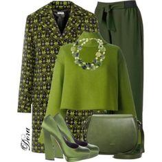 Wear in green