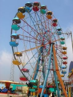 Amusement Park Rides : Gondola Wheel