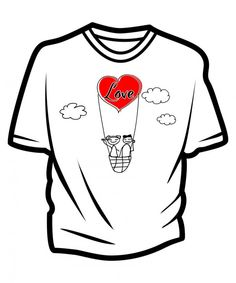 Free Ready To Print Long Distance Relationship, Couple T-Shirt ...