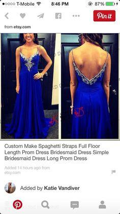 spaghetti straps v neck royal blue beaded prom dresses 2015 long evening party dress