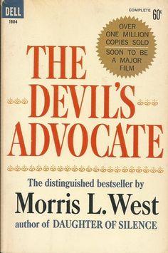 The Devil's Advocate by Morris L West