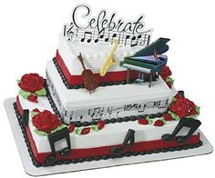 Cake Decorating Ideas Musician : 1000+ images about violin recital ideas on Pinterest ...