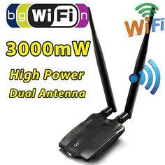 Wi-Fi Password Cracking Decoder Free Wireless WiFi USB Adapter EC LL