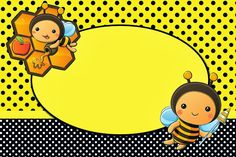 Baby Bee Party Invitations, Free Printables. Check out the whole set! :)
