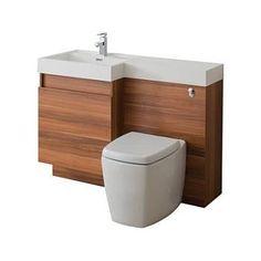 toilet & basin unit