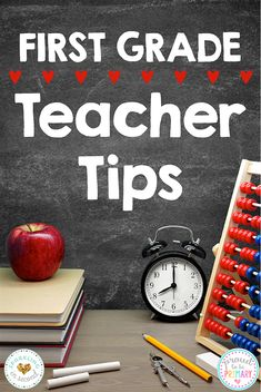 Calling all first grade teachers! Check out these must-read teacher tips that will help you set your school year off right with your new primary or Kindergarten class. Includes fun idea and activity suggestions to start the year off right! #firstgrade #teachertips #teacherideas #beginningofschool #backtoschool