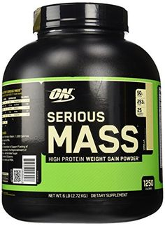 Optimum Nutrition Serious Mass Vanilla Weight Gain Protein Powder  6 lbs *** Check this awesome product by going to the link at the image.  This link participates in Amazon Service LLC Associates Program, a program designed to let participant earn advertising fees by advertising and linking to Amazon.com.