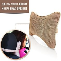 Best Neck Support Pillow for Car, Airplane Travel and a Natural Activated Bamboo Charcoal Air Purifier - Therapeutic Headrest Neck Pain Cushions and Odor Neutralizer Wybrance http://www.amazon.com/dp/B018J4O4LY/ref=cm_sw_r_pi_dp_7caZwb05ZBSA8