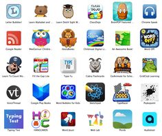 Google Chrome Web Store has multiple resources for digital learners. You can find and group apps according to learner. This then gives you resources to work with students on. For example, if you were working with a student on reading you could go to one of the reading apps.