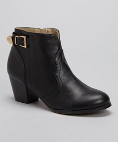 Take a look at this Modesta Black Art-02 Bootie on zulily today!