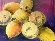 Zitronen, Acryl, 85x65cm
