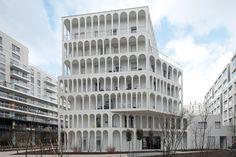 33 social housing units Boulogne Billancourt 2016_Antonini Darmon