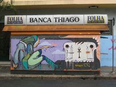 Another nice one in São Paulo:Banca Thiago, Corner of Rua Mq. de Paranaguá and Rua Augusta