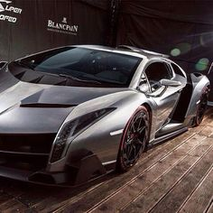 Hot Shot of a Lamborghini Veneno