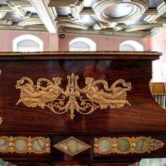 Der alte Flügel im Festsaal #museum #Instrument #musik #zeitz