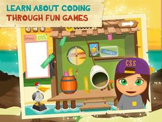 CodeQuest by Codarica Inc. - a fun iOS game for children that want to learn how to code!