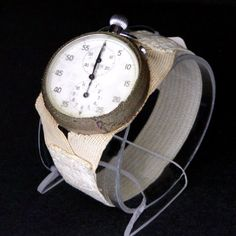 Heuer stopwatch worn by John Glenn on his 1962 mission in Friendship 7, to become the first American to orbit the Earth