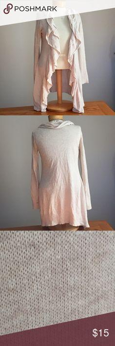 """Isabella's Closet cream cardigan. Size medium Isabella's Closet cream Knit cardigan. Size medium 28"""" long. 100% cotton Isabella's closet Sweaters Cardigans"""