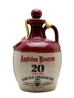 Appleton Reserve 20 Year Old - : The Whisky Exchange Cigars And Whiskey, Bourbon Whiskey, Whiskey Bottle, Liquor Bottles, Bottles And Jars, Strong Drinks, 20 Years Old, Bottle Design, Retirement Celebration