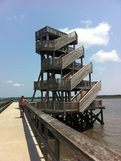 Beaufort, SC ...........Port Royal, SC known as The Sands Boardwalk and Pier.