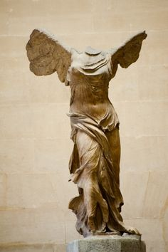 Art Print of Winged victory of Samothrace, second century B. marble sculpture of the Greek goddess Nike (Victory), held at Louvre museum. Search 33 Million Art Prints, Posters, and Canvas Wall Art Pieces at Barewalls. Statue Antique, Rome Antique, Ancient Rome, Ancient Greece, Art Sculpture, Sculptures, Winged Victory Of Samothrace, Oeuvre D'art, Victorious