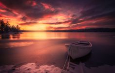 Winter Mood - Just a regular winter afternoon at the lake ;)