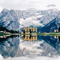 Lake Misurina #sudtirol #Dolomites #italia