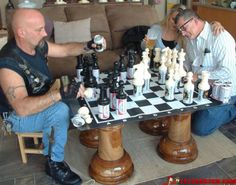 Beer Chess Board