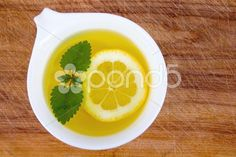 lemon balm tea cup - Stock Footage | by Juliedeshaies
