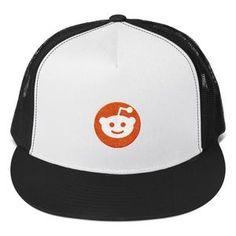 Reddit Logo, Classic Trucker Cap