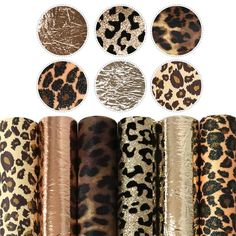 Leather Sheets, Leather Fabric, Cheetah Print Hair, Leopard Decor, Baby Flower Headbands, Fabric Hair Bows, Fabric Animals, How To Make Earrings, Future Classroom