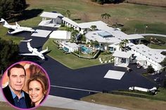 Dream Homes John Travolta and Kelly Preston make their home at this million dollar Ocala, Florida estate.John Travolta and Kelly Preston make their home at this million dollar Ocala, Florida estate. Celebrity Mansions, Celebrity Houses, Celebrity News, John Travolta House, John Travolta Kelly Preston, Famous Celebrities, Celebs, Celebrities Homes, Dream Mansion