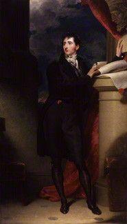 Sir Francis Burdett, 5th Bt  by Sir Thomas Lawrence  oil on canvas, circa 1793 Husbands 14th great grandfather