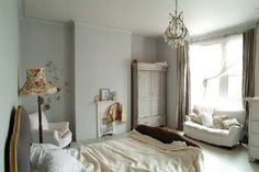 Shabby Pale Bedrooms