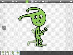 An entire lesson plan on Animation: iPad Animation Figure Drawing Art Lesson and Tutorial on Doink