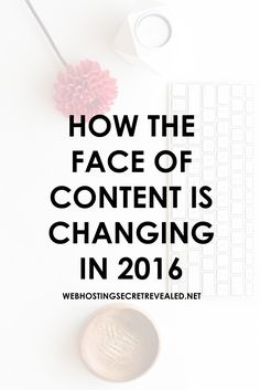 There's no doubt that the face of content is changing. Here are some important things you need to know (plus super tips) that will help you better serve your audience's needs]. Click the PIN  now. @angengland