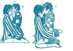Anime Angel, Anime Demon, Yuri, Slayer Meme, Naruto Gaara, Latest Anime, Anime Boyfriend, Cute Gay Couples, Demon Hunter