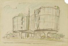 Morassutti e Mangiarotti, Building, Via Gavirate, Milano, 1959