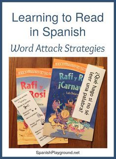 Learning to read in Spanish is easier with specific strategies. Encourage kids to use these 7 strategies to tackle words. Printable strategies bookmark.